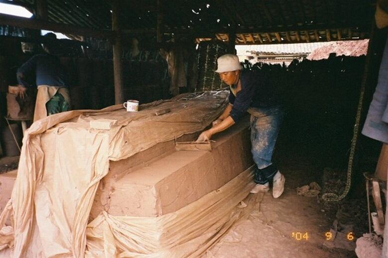 粘土保管所
